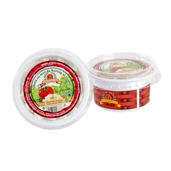 900 Salata icre hering si ceapa 70g